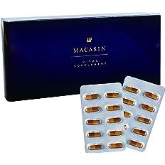 MACASIN マカシン [ マカ サプリ 持続力 ] [ 亜鉛 シルトリン アルギニン タウリン ムクナ トンカットアリ すっぽん 10種以上豪華配合 ] nocom 60錠/1箱