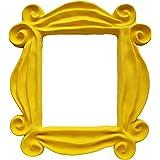 Yellow Friends Frame Peephole Door Frame Resin Handmade