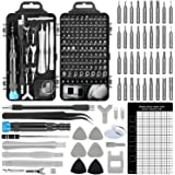 Upgrade Apsung 137 in 1 Precision Screwdriver Set with Slotted, Phillips, Torx& More Bits, Non-Slip Magnetic Electronics Tool