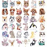 36 Sheets Animals Theme Temporary Tattoos for Kids, Animal Tattoos Featured Zoo Patterned Body Art Waterproof Temporary Tatto
