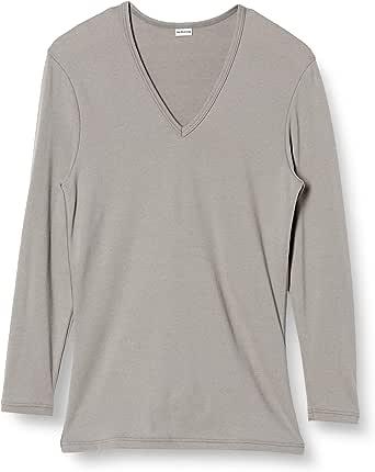 (ブロス)BROS インナーシャツ 【プレミアムサーモ】 長袖・深V首 吸湿発熱 日本製 GL5621