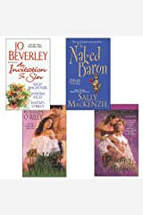 Hot Historicals Bundle with An Invitation to Sin, The Naked Baron, When His Kiss Is Wicked, & Mastering the Marquess Kindle Edition