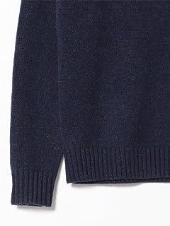 5 Gauge Wool Crewneck Sweater 11-15-0879-103: Navy