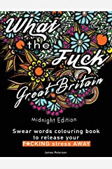 Swear words colouring book: What the Fuck Great Britain release your stress away Paperback
