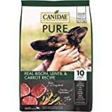 Canidae PURE Grain Free, Limited Ingredient Dry Dog Food, Bison, Lentil and Carrot, 4lbs