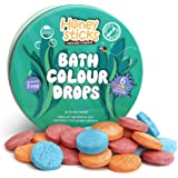 Honeysticks All Natural Bath Colour Tablets for Kids - Non Toxic Bath Colour Drops Made with Food Grade Ingredients - Fragran