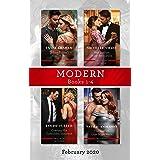 Modern Box Set 1-4 February 2020/Indian Prince's Hidden Son/Her Sicilian Baby Revelation/Craving His Forbidden Innocent/The G