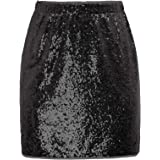 GRACE KARIN Womens Night-Out Sequin Mini Pencil Skirt Party Cocktail