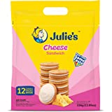 Julie's Cheese Sandwich Biscuits, 336g