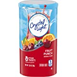 Crystal Light Fruit Punch Drink Mix (48 Pitcher Packets, 12 Packs of 4)