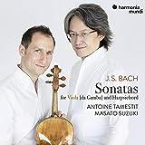 J.S.バッハ : ヴィオラ[・ダ・ガンバ]とチェンバロのためのソナタ集 / アントワン・タメスティ   鈴木優人 (J.S.Bach: Sonatas for Viola [da Gamba] and Harpsichord / Antoine T