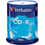 Verbatim CD-R 700MB 80 Minute 52x Recordable Disc - 100 Pack Spindle