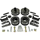 MotoFab Lifts 3 inch Front 3 inch Rear Full Lift Kit with Shock Extenders compatible with Jeep Wrangler JK