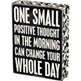Primitives by Kathy Box Sign, 21338, Positive Thought, One Size