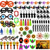 Aitbay 150PCS Halloween Party Favors Bulk for Kids, Favors Toy Assortment for Carnival Prizes, Trick or Treat, Halloween Part