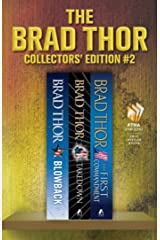 Brad Thor Collectors' Edition #2: Blowback, Takedown, The First Commandment (The Scot Harvath Series) Kindle Edition