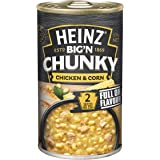 Heinz Big 'N Chunky Chicken and Corn Canned Soup, 535g