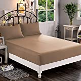 Elegant Comfort ™ Premium Hotel 1-Piece, Luxury & Softest 1500 Thread Count Egyptian Quality Bedding Fitted Sheet Deep Pocket