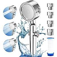 シャワーヘッド 増圧 80%節水シャワープロ 浄水 極細水流 塩素除去 しゃわーへっど 角度調整 高水圧 3階段モード…