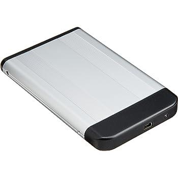 玄人志向 2.5型HDDケース SATA接続 USB2.0対応 クロムシルバー GW2.5AI-SU2