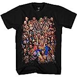 Mad Engine WWE Group Shot John Cena Big Show AJ Styles Daniel Bryan Adult Men's Graphic Tee T-Shirt