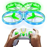 UFO1 Mini Drone for Kids - Small Drones for Beginners, LED Drone with Hand Motion Sensors