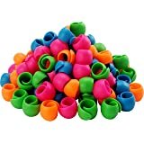 New Brothread 100pcs Thread Spool Savers/Spool Huggers - Prevent Thread Tails from Unwinding - No Loose Ends for Sewing and E