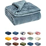 WONDER MIRACLE Fuzzy Sherpa Double Layers Super Thick and Warm Fleece Reversible Infant,Baby,Toddler,pet Blanket for Crib, St