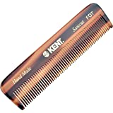"Kent A FOT"" The Richard"" Handmade All Fine Teeth Pocket (4 1/2"" - 113mm) - for Wet or Dry, Fine or Thinning Hair"