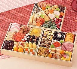 (12月30日着) 京菜味のむら おせち「華御所」三段重 40品