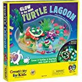 Creativity for Kids Create with Clay Turtle Lagoon – Marine Biology Crafts for Kids - Build a Sea Turtle Habitat with Clay
