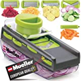 Mueller Austria Premium Quality Mandoline Zester-Pro Multi Blade Adjustable Cheese/Vegetable Slicer, Cutter, Shredder, Zester