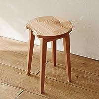 [ベルメゾン] スツール 端材を集めて作った アルダー材 完成品 低ホルマリン 椅子 ナチュラル