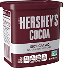 Hershey's Natural Unsweetened Cocoa Powder Can, 226 g