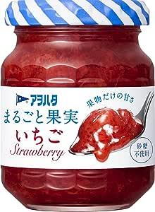 アヲハタ 砂糖不使用 125g まるごと果実 いちご