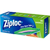 Ziploc Sandwich Bag, 50 count
