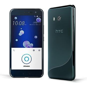 HTC U11 Factory Unlocked Phone グローバル版 SIMフリー (Brilliant Black)