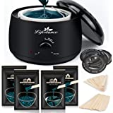 Lifestance Waxing Kit, Wax Warmer Hair Removal for Women Men, Waxing Pot Professional Kit for Full Body, Legs, Face, Eyebrows