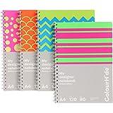 Colourhide My Designer Notebook A4 120 Page Dots