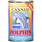 """Canned Critters Stuffed Animal: Dolphin 6"""""""