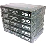 Maxell Professional Industrial Communicator Series C90 Audio Cassette Tapes - 5 Pack