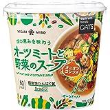 ひかり味噌 オーツミートと野菜のスープ オニオンコンソメ ×6個