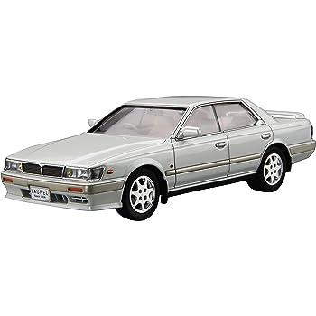 青島文化教材社 1/24 ザ・モデルカーシリーズ No.28 ニッサン HC33 ローレルメダリストCLUB・S 1991 プラモデル