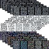 90枚 ネイルアートシール ミニ ネイル 用 可愛い マニキュア ネイルステッカー
