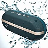 INSMY Portable Bluetooth Speakers, 20W Wireless Speaker Loud Stereo Sound Rich Bass, IPX7 Waterproof Floating, TWS Stereo Pai