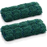 E-Cloth Kitchen Dynamo Microfiber Sponge Alternative, Eco Packaging, Green - 2 Pack