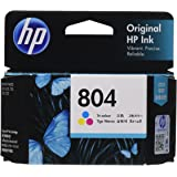 HP 804 インクカートリッジ カラー/T6N09AA