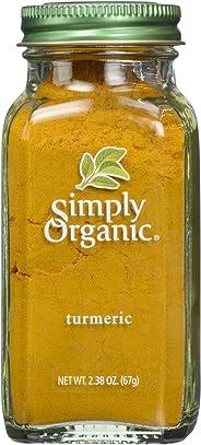 Simply Organic Turmeric Large Glass, 67g