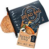 Reusable Bread Bag for Homemade Bread, Large Bread Bags For Homemade Bread - Freezer Bread Bags For Bread Loaves with Double