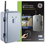 GE Z-Wave Plus 40-Amp Indoor/Outdoor Metal Box Smart Switch, Direct Wire, 120-277VAC, for Pools, Pumps, Patio Lights, AC Unit